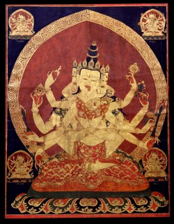 17th_century_Central_Tibeten_thanka_of_Guhyasamaja_Akshobhyavajra,_Rubin_Museum_of_Art